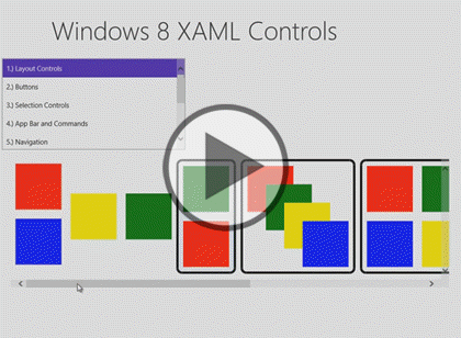 Windows 8 Using XAML, Part 03: Style Controls Trailer