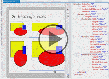 Windows 8 Using XAML, Part 06: Shapes