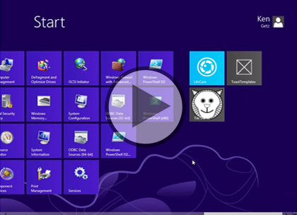 Windows 8 Using XAML, Part 13: Tiles and Templates Trailer