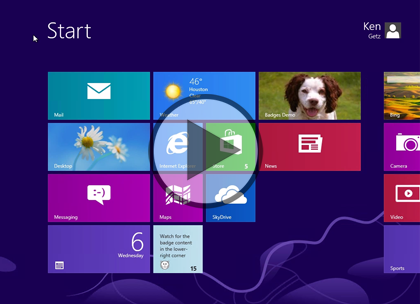 Windows 8 Using XAML, Part 14: Badges and Secondary Tiles Trailer