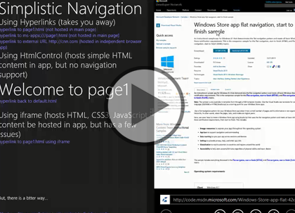 Windows 8 Using HTML5 and JS, Part 2: WinJS Trailer