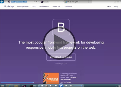 Bootstrap 3.1, Part 1: Introduction and Installing