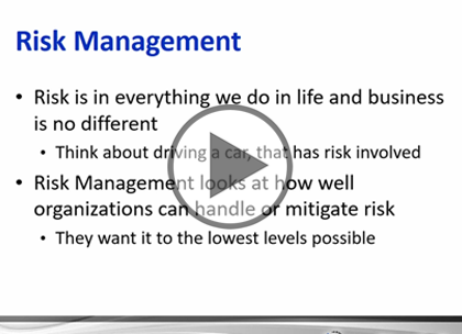 CASP, Part 7: Risk Management
