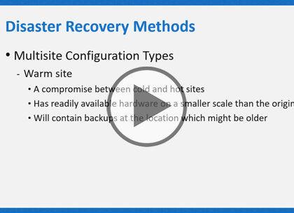 CompTIA Cloud+, Part 8 of 8: Disaster Recovery Trailer
