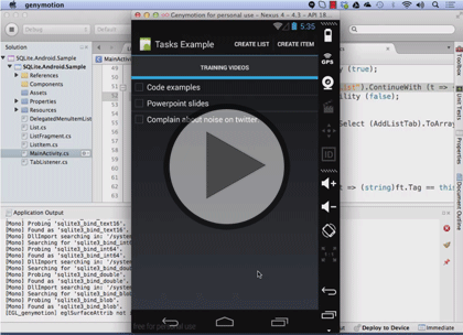 Xamarin Cross Platform: Data Access | Courses | LearnNowOnline