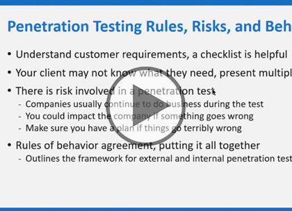 Security Analyst, Part 2: Penetration Testing Overview