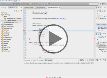 Java SE 9, Part 6 of 14: Swing and Flash Card Application Trailer