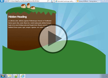 jQuery, Part 5 of 6: Debugging and Graphics Trailer