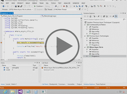 C# 2012, Part 3 of 4: Asynchronous Programming Trailer