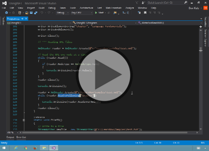 Programming C# 6, Part 06 of 12: Strings, File I/O, and Data Types Trailer