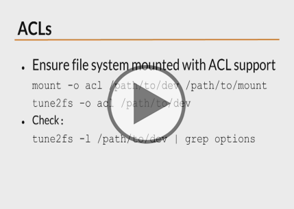 Linux Hardening and Security, Part 3 of 3: File System Trailer