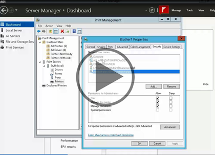 Windows Server 2012, Part 5 of 6: Share Access and Group Policy Trailer