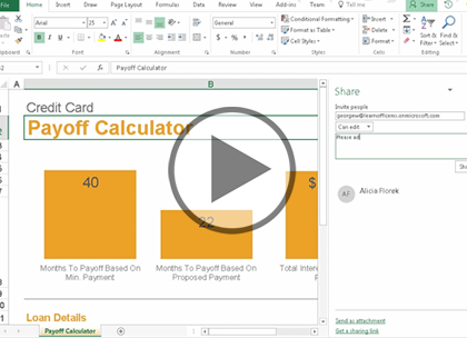 Microsoft Excel 2016, Part 6: New Features