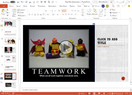 Microsoft PowerPoint 2016, Part 5: New Features Trailer