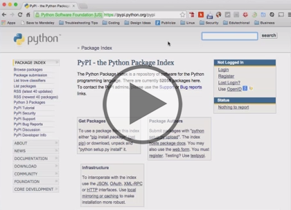 Python 3, Part 6: Modules, JSON, and Algorithms Trailer