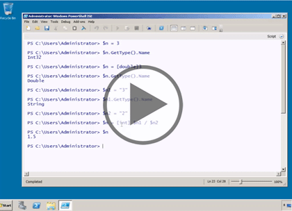 PowerShell 3.0, Part 2 of 4: Variables, Functions, and Objects Trailer