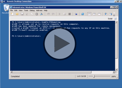 PowerShell 3.0, Part 3 of 4: Providers, Items, Remote Scripting Trailer