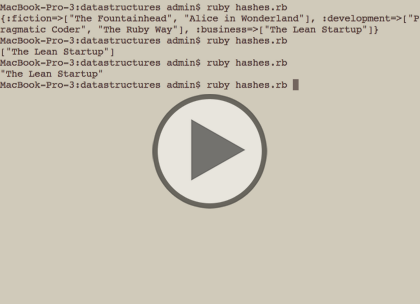 Ruby, Part 2: Variables and Data Structures Trailer
