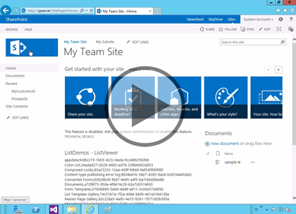 SharePoint 2013 Developer, Part 05: Programming Lists Trailer