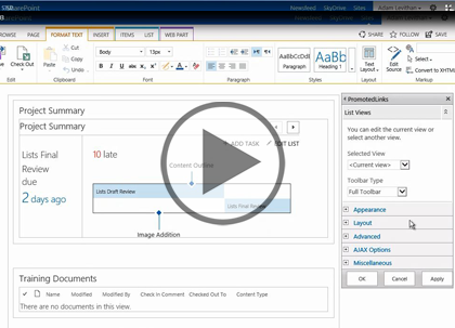 SharePoint 2013 Power User, Part 3: Pages and Solutions Trailer