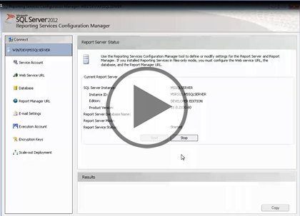 SSRS 2012, Part 01 of 10: Introduction and Report Builder