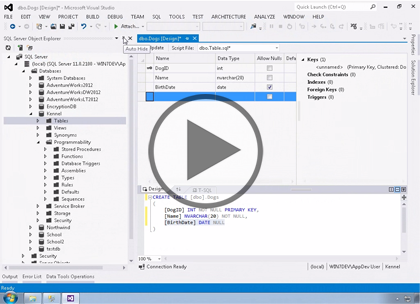 SQL 2014 Developer, Part 07 of 13: Design and Deployment Trailer