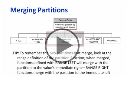 SQL 2014 Developer, Part 10 of 13: Partitions Trailer