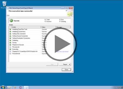 SSIS 2014, Part 01 of 11: Concepts and Data Tools Trailer