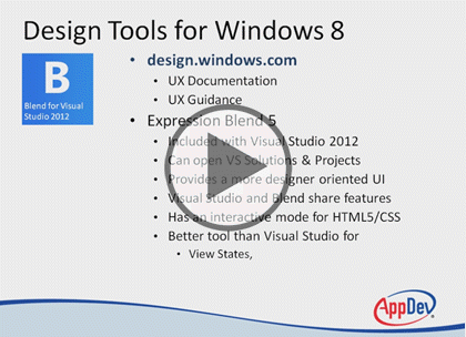 UX Design for Win 8 Apps: Building UI in Blend | Courses