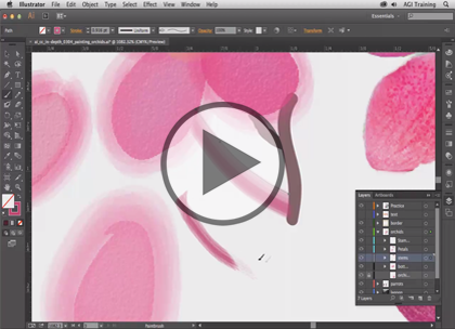 Illustrator CC In-Depth, Part 1: Drawing and Color Trailer