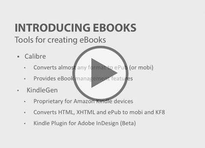 eBook Essentials, Part 2: Creating an ePub Trailer