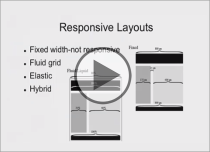 Responsive Websites, Part 3: Type and Screens Trailer