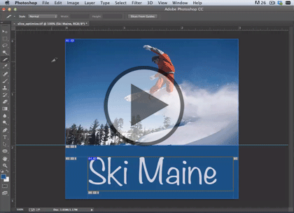 Web Graphics using PS CC, Part 2: GIF, PNG & Slice Trailer