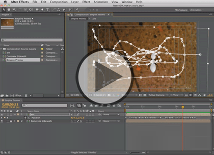 After Effects CS6, Part 1: Interface & Animation Trailer