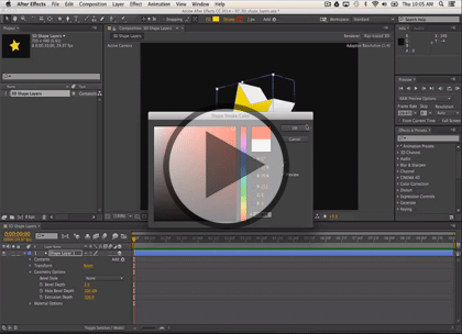 After Effects CC InDepth, Part 1: Getting Started
