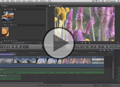 Final Cut Pro X, Part 2: A/V Edits, & Timeline Trailer