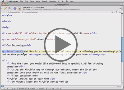 HTML/CSS for Designers, Part 1: Introduction Trailer