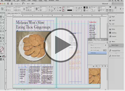 InDesign CS6, Part 04: Styles Trailer