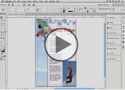 InDesign CS6, Part 08:  Documents and Publishing