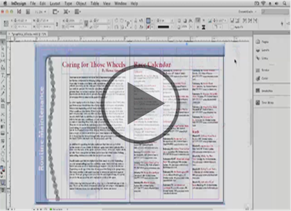 InDesign CS6, Part 09: Digital Documents  Trailer