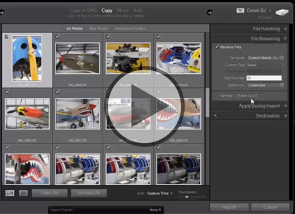 Lightroom 5, Part 9: Slideshows