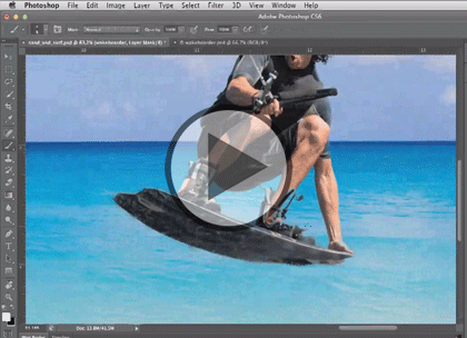 Photoshop CS6, Part 04: Mask, Pen and Retouching Trailer