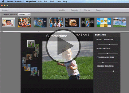 Photoshop Elements 11, Part 5: Slideshow & Filters