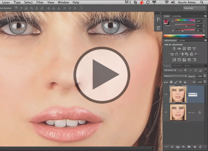 Photo Retouching with PS, Part 5: Portrait & Pen Trailer