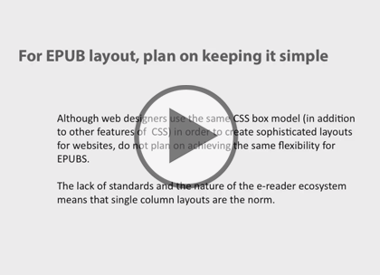 ePub Styling Essentials, Part 1: CSS