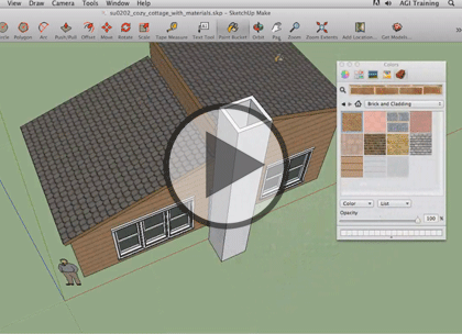 SketchUp 2013, Part 3: Style and Layout Trailer