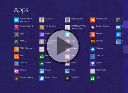 UX Design for Win 8 Apps, Part 3: Animation & Tile