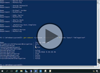 Securing Windows Server 2016, Part 1 of 5: Overview and Users Trailer