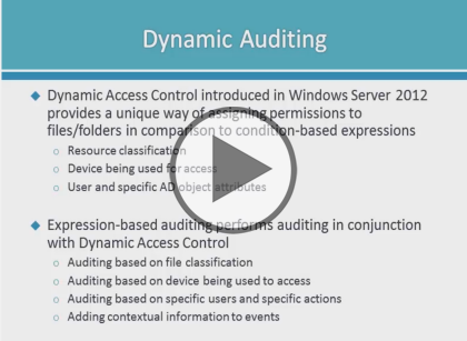 Securing Windows Server 2016, Part 3 of 5: Auditing and Infrastructure
