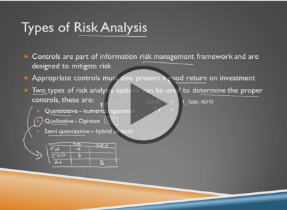 Certified Information Security Manager CISM, Part 2 of 4: Risk Management Trailer
